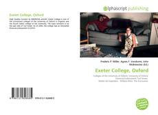 Bookcover of Exeter College, Oxford
