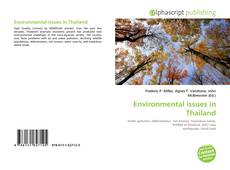 Bookcover of Environmental issues in Thailand