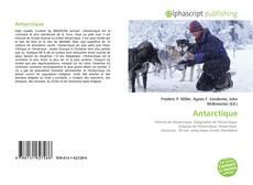 Portada del libro de Antarctique