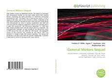 Bookcover of General Motors Sequel