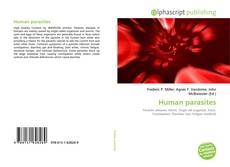 Bookcover of Human parasites