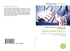 Bookcover of Martin Luther King, Sr.