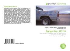 Capa do livro de Dodge Ram SRT-10