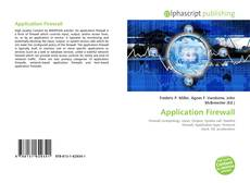 Bookcover of Application Firewall