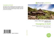 Bookcover of Insurgency in Aceh
