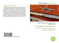 Capa do livro de Chevrolet Corvette C1
