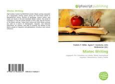 Buchcover von Mixtec Writing