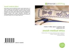 Bookcover of Jewish medical ethics