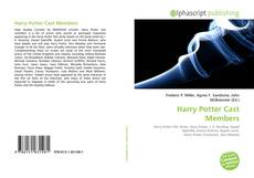 Capa do livro de Harry Potter Cast Members