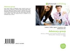 Bookcover of Advocacy group