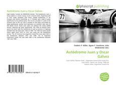 Portada del libro de Autódromo Juan y Oscar Gálvez
