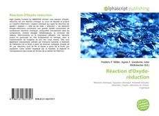 Couverture de Réaction d'Oxydo-réduction