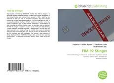 Portada del libro de FIM-92 Stinger