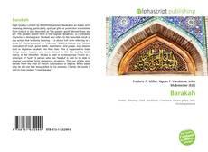 Couverture de Barakah