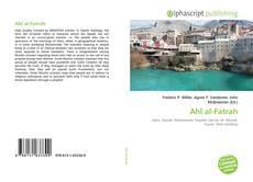 Ahl al-Fatrah kitap kapağı
