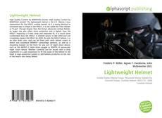 Bookcover of Lightweight Helmet