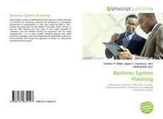 Couverture de Business System Planning
