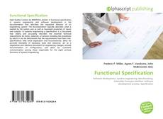 Bookcover of Functional Specification