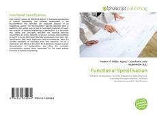 Capa do livro de Functional Specification