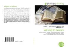 Copertina di Alimony in Judaism