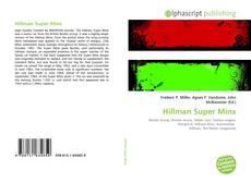 Bookcover of Hillman Super Minx