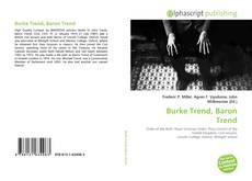 Bookcover of Burke Trend, Baron Trend