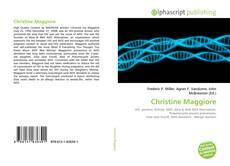 Bookcover of Christine Maggiore