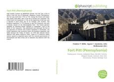 Fort Pitt (Pennsylvania) kitap kapağı