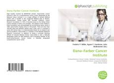 Buchcover von Dana–Farber Cancer Institute