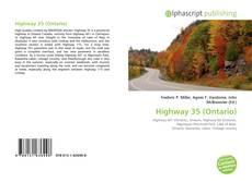 Buchcover von Highway 35 (Ontario)