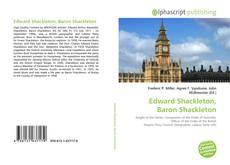 Capa do livro de Edward Shackleton, Baron Shackleton
