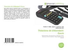 Couverture de Théorème de d'Alembert-Gauss