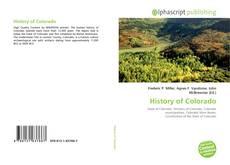 Обложка History of Colorado