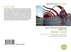 Buchcover von Henry J. Kaiser