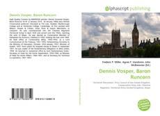 Bookcover of Dennis Vosper, Baron Runcorn
