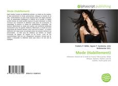 Bookcover of Mode (Habillement)