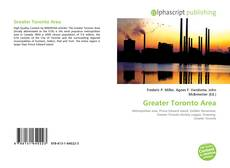 Bookcover of Greater Toronto Area