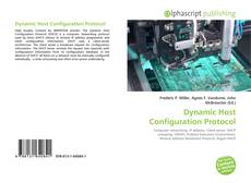 Bookcover of Dynamic Host Configuration Protocol