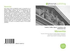 Bookcover of Monarchie