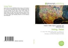 Capa do livro de Irving, Texas