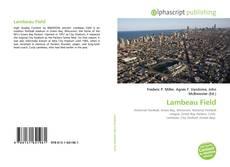 Bookcover of Lambeau Field