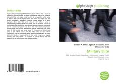 Capa do livro de Military Elite