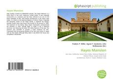 Bookcover of Hayes Mansion