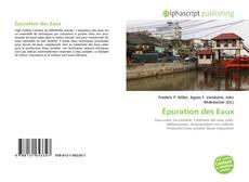 Épuration des Eaux kitap kapağı