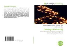 Bookcover of Gonzaga University
