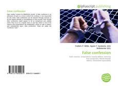 Copertina di False confession