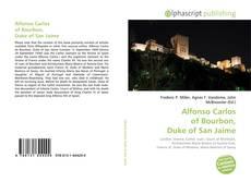 Обложка Alfonso Carlos of Bourbon, Duke of San Jaime