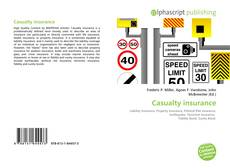 Bookcover of Casualty insurance