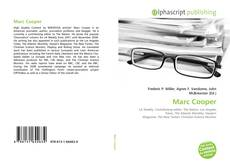 Bookcover of Marc Cooper
