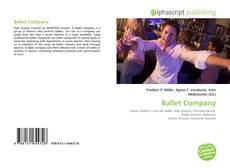 Capa do livro de Ballet Company